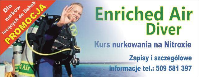Kurs nurkowania na Nitroxie